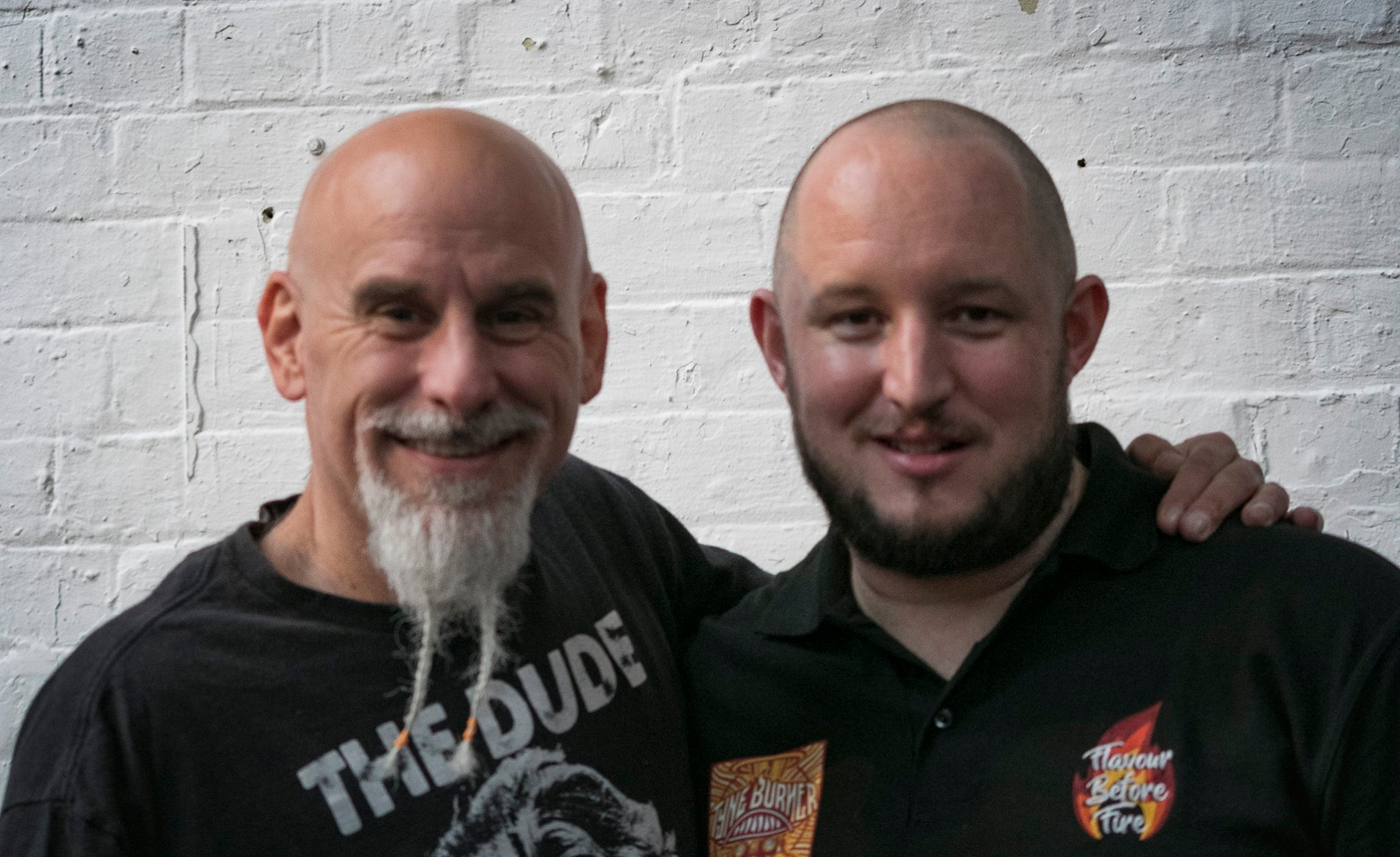 Youtube Chilli legend - Johnny Scoville & myself at Tyne burner 12/10/19